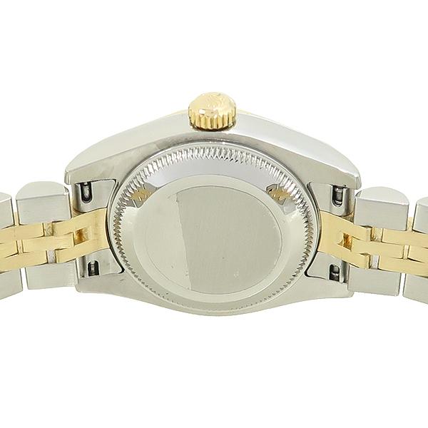 Rolex(로렉스) 179173 DATEJUST (데이저스트) 10포인트 다이아 장미석판 18K 골드 콤비 여성용 시계 [강남본점] 이미지4 - 고이비토 중고명품