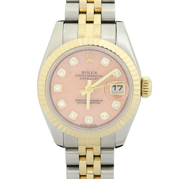 Rolex(로렉스) 179173 DATEJUST (데이저스트) 10포인트 다이아 장미석판 18K 골드 콤비 여성용 시계 [강남본점] 이미지5 - 고이비토 중고명품