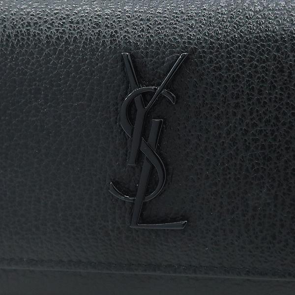 Saint Laurent Paris(생로랑파리) 477873 YSL 로고 장식 블랙 레더 모노그램 선셋 월렛 크로스백 [강남본점] 이미지4 - 고이비토 중고명품