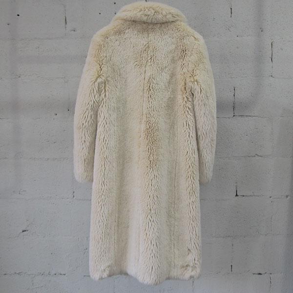 08SIRCUS(08서커스) 아이보리 컬러 페이크 퍼 여성용 코트 [동대문점] 이미지3 - 고이비토 중고명품