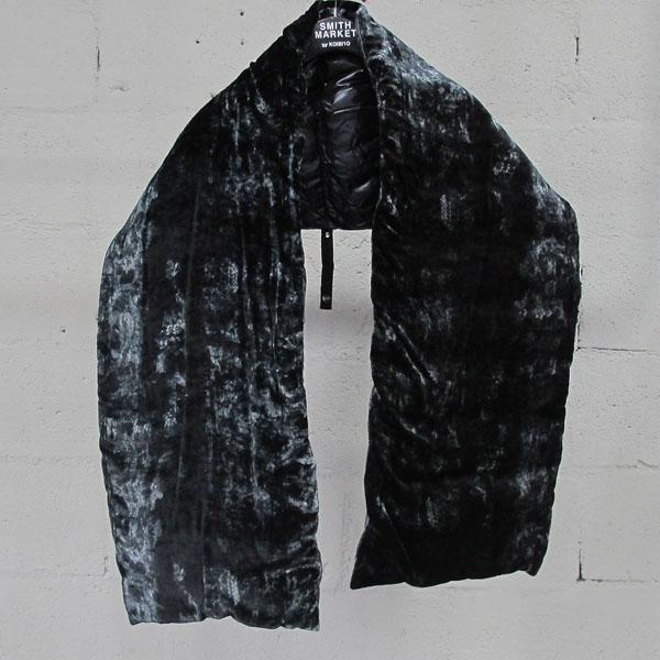 HERNO(에르노) PI0741D 실크 혼방 블랙 컬러 여성용 롱 패딩+패딩 머플러 SET [동대문점] 이미지4 - 고이비토 중고명품