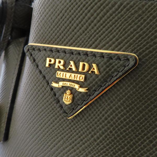 Prada(프라다) BN2775 SAFFIANO(사피아노) CUIR 두블레 MILITARE (카키) 컬러 토트백 [잠실점] 이미지3 - 고이비토 중고명품