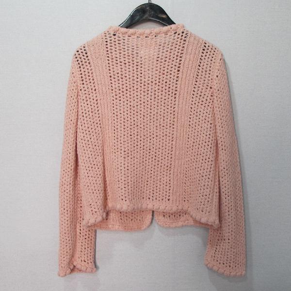 Chanel(샤넬) P55741 핑크 컬러 나일론 혼방 면 여성용 가디건 [대구반월당본점] 이미지2 - 고이비토 중고명품