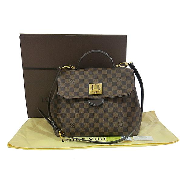 Louis Vuitton(루이비통) N41168 다미에 에벤 캔버스 베르가모 MM 2WAY [대구동성로점]