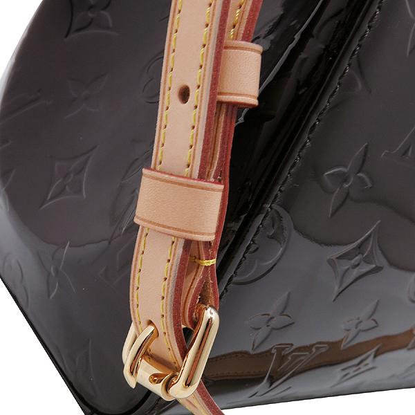 Louis Vuitton(루이비통) M91619 모노그램 베르니 아마랑뜨 브레아 MM 2WAY [인천점] 이미지5 - 고이비토 중고명품