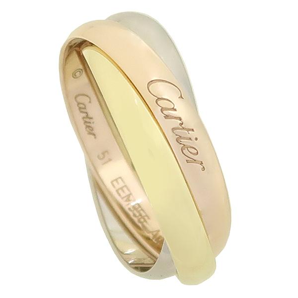 Cartier(까르띠에) B4052751 18K 삼색골드 Trinity ring, classic 클랙식 트리니티 링 반지 - 11호 [강남본점] 이미지2 - 고이비토 중고명품