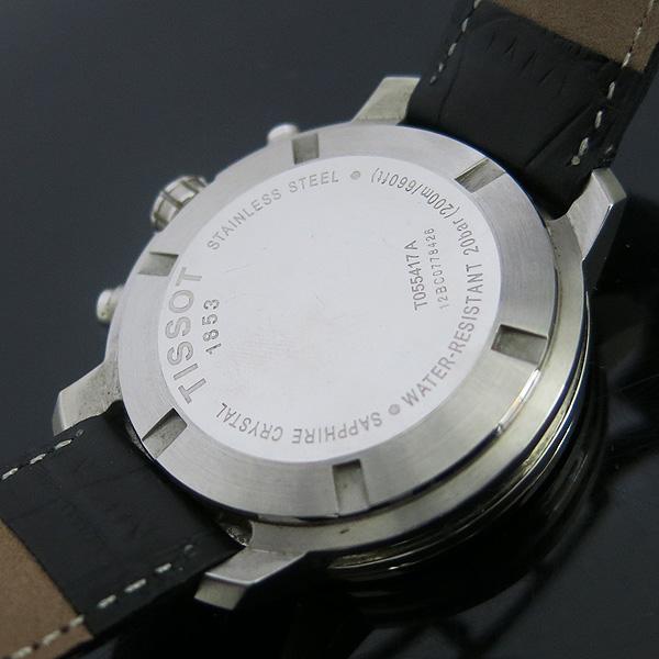 TISSOT(티쏘) T055.417.16.057.00 PRC200 크로노그래프 가죽 밴드 남성용 시계 [동대문점]