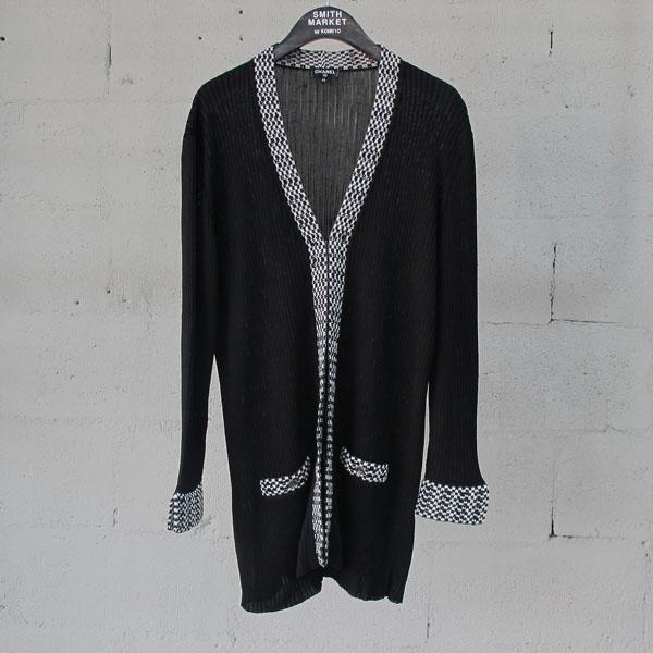 Chanel(샤넬) P56155 블랙 컬러 위빙 디테일 여성용 가디건 [동대문점]