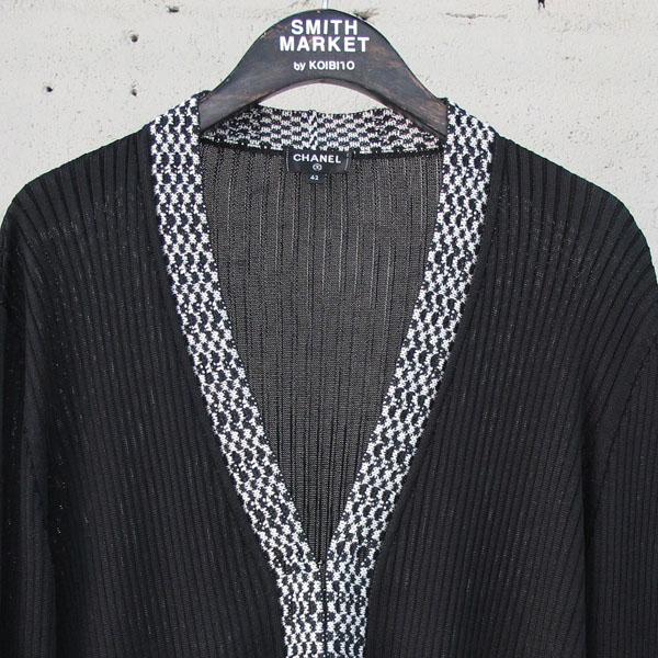 Chanel(샤넬) P56155 블랙 컬러 위빙 디테일 여성용 가디건 [동대문점] 이미지2 - 고이비토 중고명품
