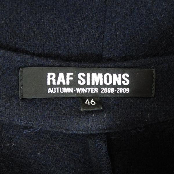 RAF SIMONS (라프 시몬스) 울 혼방 다크네이비 여성용 셔츠 [대구반월당본점]