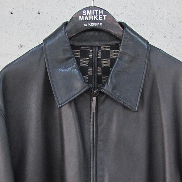 Louis Vuitton(루이비통) 램스킨 블랙 레더 남성용 가죽 자켓 [동대문점] 이미지2 - 고이비토 중고명품