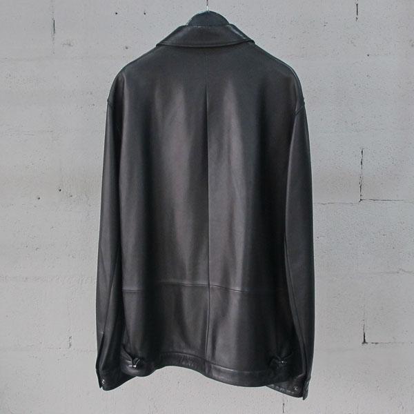 Louis Vuitton(루이비통) 램스킨 블랙 레더 남성용 가죽 자켓 [동대문점]