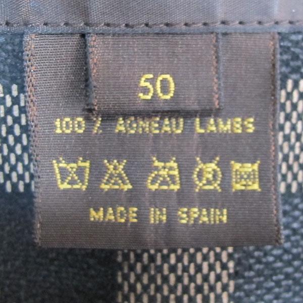 Louis Vuitton(루이비통) 램스킨 블랙 레더 남성용 가죽 자켓 [동대문점] 이미지4 - 고이비토 중고명품