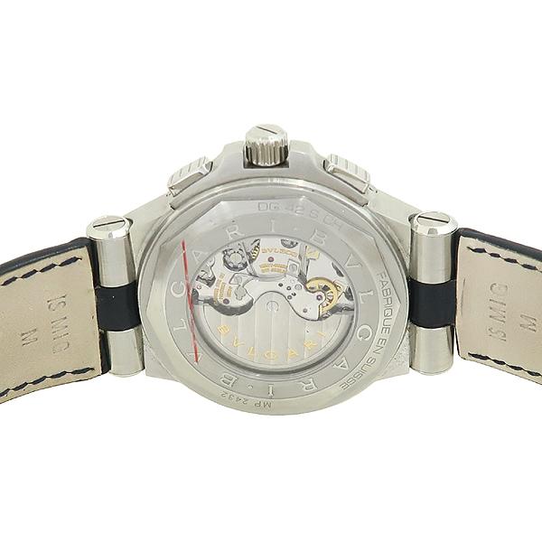 Bvlgari(불가리) DG42S CH 한정판 (56/500) 신형 디아고노 크로노 오토매틱 크로커다일 밴드 남성용 시계 [강남본점] 이미지4 - 고이비토 중고명품