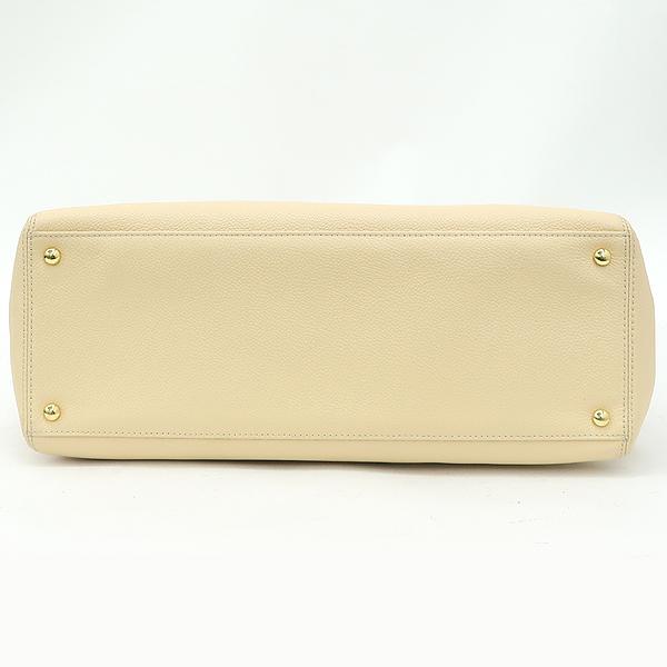 Chanel(샤넬) A15206 카프스킨 캐비어 베이지 금장 COCO로고 서프 토트백 + 숄더스트랩 2WAY [강남본점] 이미지3 - 고이비토 중고명품