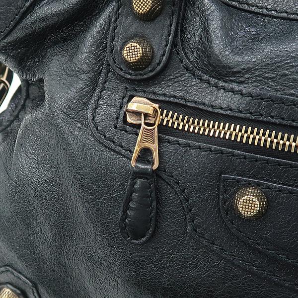 Balenciaga(발렌시아가) 281770 빈티지 블랙 레더 뉴 자이언트 시티 토트백 + 숄더스트랩 [잠실점] 이미지3 - 고이비토 중고명품
