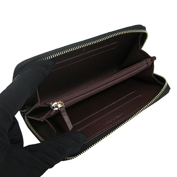 Chanel(샤넬) A80481 블랙 캐비어 스킨 금장 COCO 로고 장식 짚업 중지갑 [동대문점]