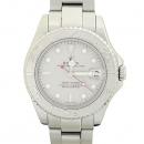 Rolex(로렉스) 169622 YACHT-MASTER(요트마스터) 플래티늄골드 베젤 그레이 다이얼 오이스터 밴드 스틸 여성용 시계 [강남본점]
