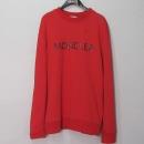 MONCLER(몽클레어) 80264 50 8098U 455 레드컬러 사이드지퍼 로고 남성용 맨투맨 [대구반월당본점]