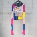 D&G(돌체&가바나) 멀티 컬러 레이스 장식 롱 슬리브리스 여성용 터틀넥 티셔츠 [동대문점]