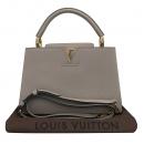 Louis Vuitton(루이비통) M42253 토뤼옹 레더 갈렛 컬러 카푸신(카퓌신) PM 탑핸들 토트백 + 숄더스트랩 [부산센텀본점]