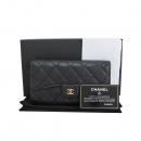 Chanel(샤넬) A31506Y01864 블랙 캐비어스킨 금장 로고 클래식 장지갑 [대구반월당본점]