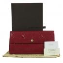 Louis Vuitton(루이비통) M90208 모노그램 베르니 레드 컬러 사라 월릿 장지갑 [대구동성로점]