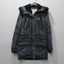 ZADIG&VOLTAIRE(자딕엔볼테르) 블루 컬러 100% 면 빈티지 워싱 여성용 야상 자켓 [대구반월당본점]