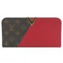 Louis Vuitton(루이비통) M56174 모노그램 캔버스 체리 토리옹 레더 V 시그니처 기모노 월릿 장지갑 [부산센텀본점]