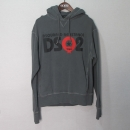 DSQUARED2 (디스퀘어드2) S74GP0336 그레이 컬러  레지스탠스 남성용 후드 티셔츠 [대구반월당본점]