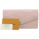 Louis Vuitton(루이비통) M61227 모노그램 베르니 로즈 발레린 핑크 컬러 사라 월릿 장지갑 [강남본점]