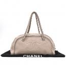 Chanel(샤넬) 베이지 컬러 체인 장식 체인 숄더백 [강남본점]