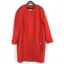 Burberry(버버리) 4022684 캐시미어 혼방 레드 컬러 견장 장식 여성용 코트 [강남본점]