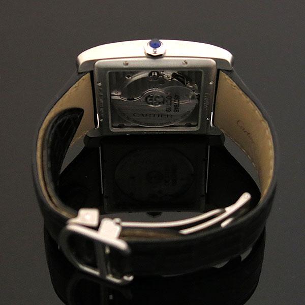 Cartier(까르띠에) W5330003 Tank MC(탱크 MC) L 사이즈 오토매틱 시스루백 가죽밴드 남성용 시계 [대구동성로점] 이미지4 - 고이비토 중고명품