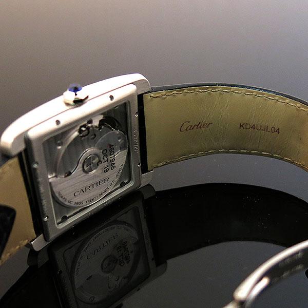 Cartier(까르띠에) W5330003 Tank MC(탱크 MC) L 사이즈 오토매틱 시스루백 가죽밴드 남성용 시계 [대구동성로점] 이미지5 - 고이비토 중고명품