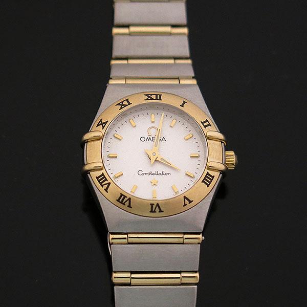 Omega(오메가) 1262.30.00 CONSTELLATION (컨스틸레이션) 옐로우골드 콤비 풀바 23MM 쿼츠 여성용 시계 [대구동성로점] 이미지2 - 고이비토 중고명품