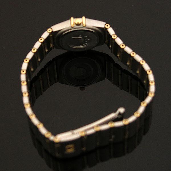 Omega(오메가) 1262.30.00 CONSTELLATION (컨스틸레이션) 옐로우골드 콤비 풀바 23MM 쿼츠 여성용 시계 [대구동성로점] 이미지4 - 고이비토 중고명품