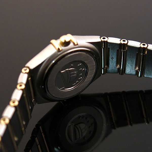 Omega(오메가) 1262.30.00 CONSTELLATION (컨스틸레이션) 옐로우골드 콤비 풀바 23MM 쿼츠 여성용 시계 [대구동성로점] 이미지5 - 고이비토 중고명품