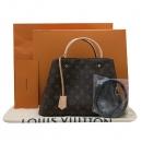 Louis Vuitton(루이비통) M41056 모노그램 캔버스 몽테뉴 MM 토트백 + 숄더스트랩 [인천점]
