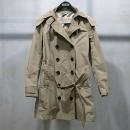 Burberry(버버리) 3976277 브릿라인 발모랄 타프타 여성용 후드 트렌치 코트 + 허리끈 [인천점]