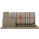Burberry(버버리) 4060085 헤이마켓 체크 PVC 금장 로고 장지갑 [인천점]