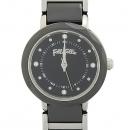 FOLLI FOLLI(폴리폴리) WF14T033BS 세라믹 콤비 여성용 시계 [강남본점]