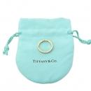 Tiffany(티파니) 18K 핑크 골드 Tiffany&Co 라운드 로고 브릴리언트 3포인트 다이아 3MM 반지 - 11.5호 [강남본점]