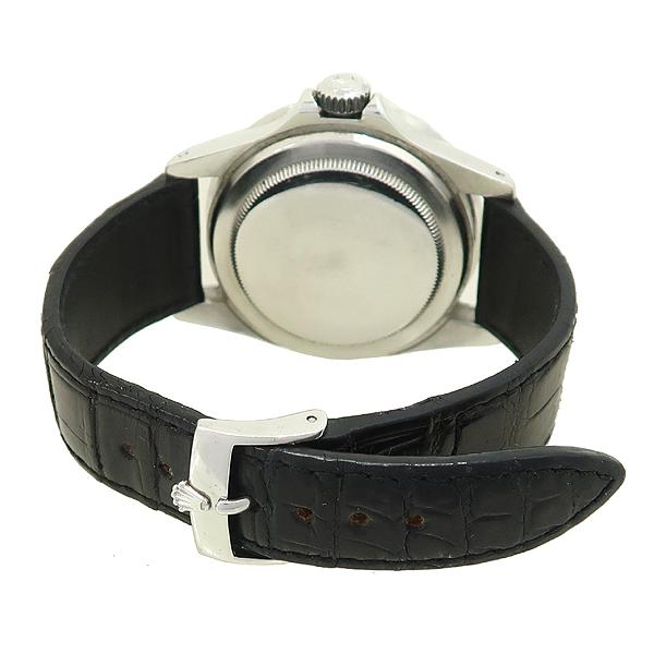 Rolex(로렉스) 빈티지 프리미엄 1680 SUBMARINER DATE 서브마리너 데이트 블랙 다이얼 가죽밴드 오토매틱 시계 [강남본점] 이미지4 - 고이비토 중고명품