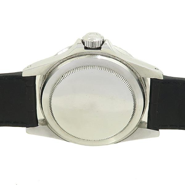 Rolex(로렉스) 빈티지 프리미엄 1680 SUBMARINER DATE 서브마리너 데이트 블랙 다이얼 가죽밴드 오토매틱 시계 [강남본점] 이미지5 - 고이비토 중고명품