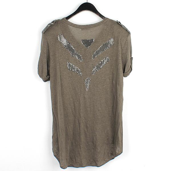 Balmain(피에르 발망) 견장 체인 장식 여성용 반팔 티셔츠 [강남본점] 이미지3 - 고이비토 중고명품