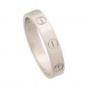 Cartier(까르띠에) B4085148 18K 화이트 골드 미니 러브링 반지 [강남본점]
