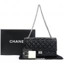 Chanel(샤넬) A37587 빈티지 블랙 페이던트 2.55 M사이즈 은장 체인 숄더백 [강남본점]