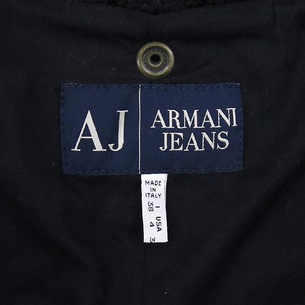 Armani(아르마니) 모 혼방 여성용 니트 코트 (후드 탈 부착) [강남본점] 이미지4 - 고이비토 중고명품
