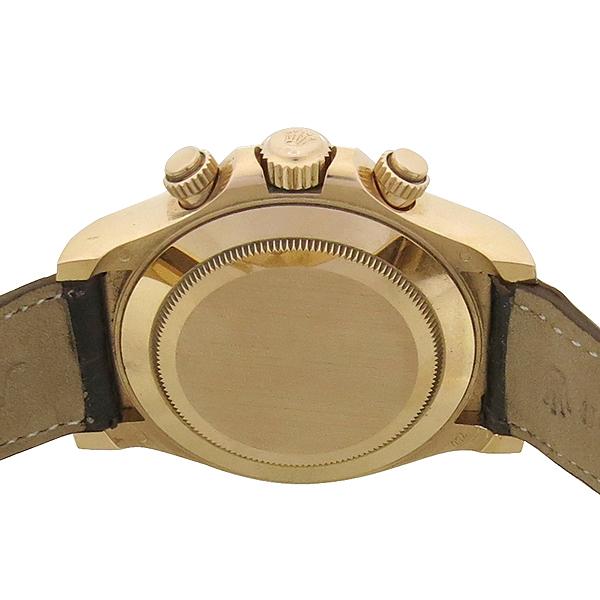 Rolex(로렉스) 116515LN DAYTONA 데이토나 40MM 에버로즈골드 블랙 세라크롬베젤 초코 넘버 다이얼 가죽밴드 남성용시계 [강남본점] 이미지5 - 고이비토 중고명품